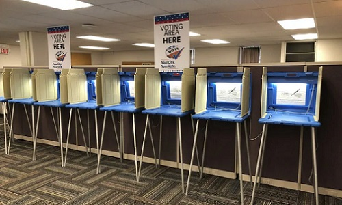 voting booths in Minnesota
